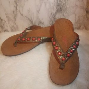 Vionic Floriana Sandals with stones sz 9